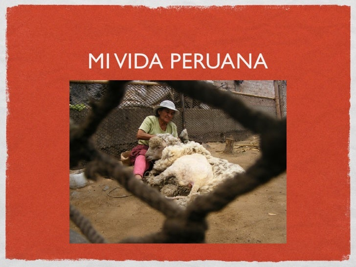 Mi Vida Peruana