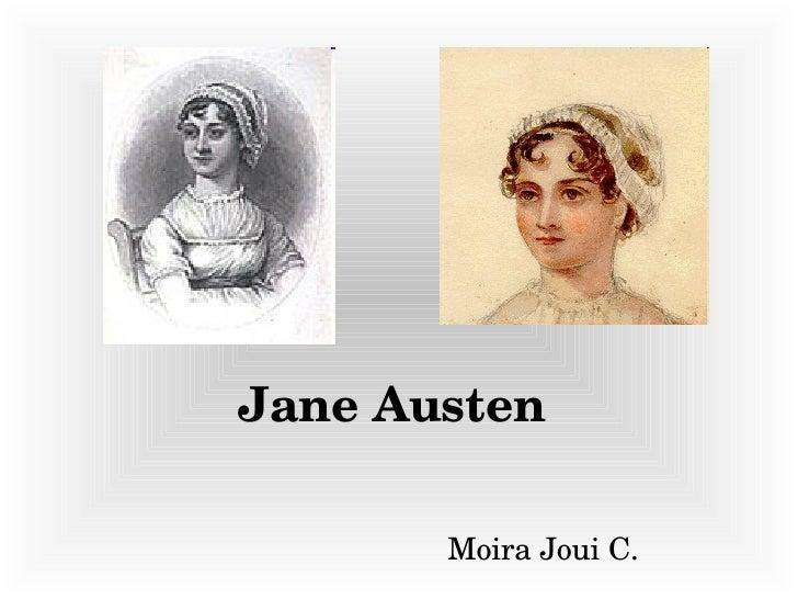 Jane Austen Moira Joui C.