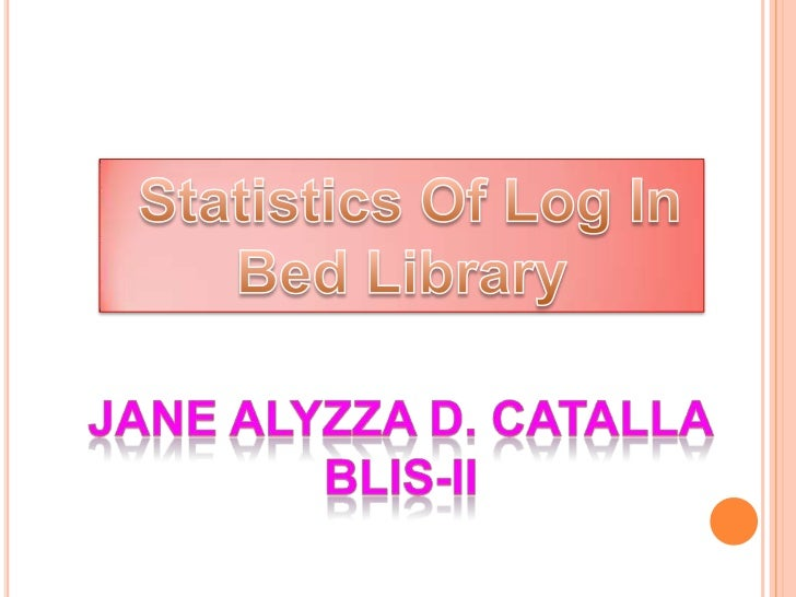 Library statistics are necessary for the effective management oflibraries.This database is made for the easy access of s...