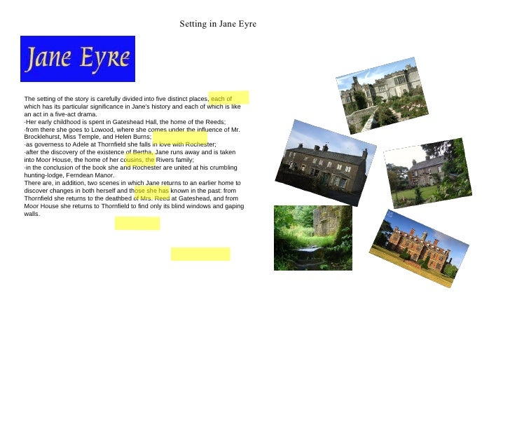 Jane Eyre essay help. What are the main conflicts in Jane Eyre?