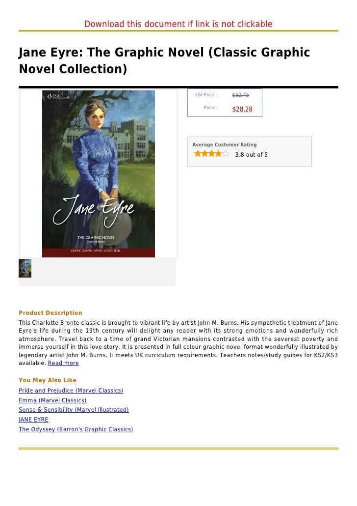 Download this document if link is not clickableJane Eyre: The Graphic Novel (Classic GraphicNovel Collection)             ...