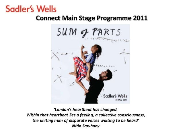 Connect Main Stage Programme 2011'London's heartbeat has changed.Within that heartbeat lies a feeling, a collective consci...