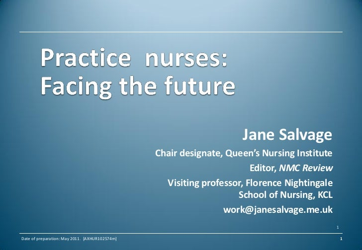 The changing role of practice nurses