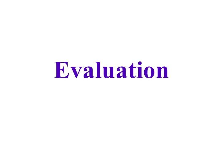 Janes Evaluation Media