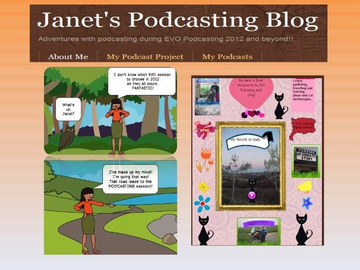 Podcast Presentation for EVO Podcasting 2012