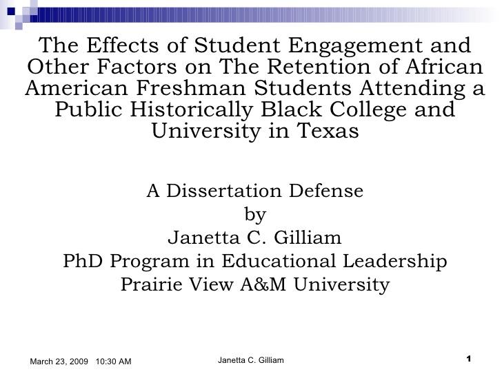 PhD Oral Defense