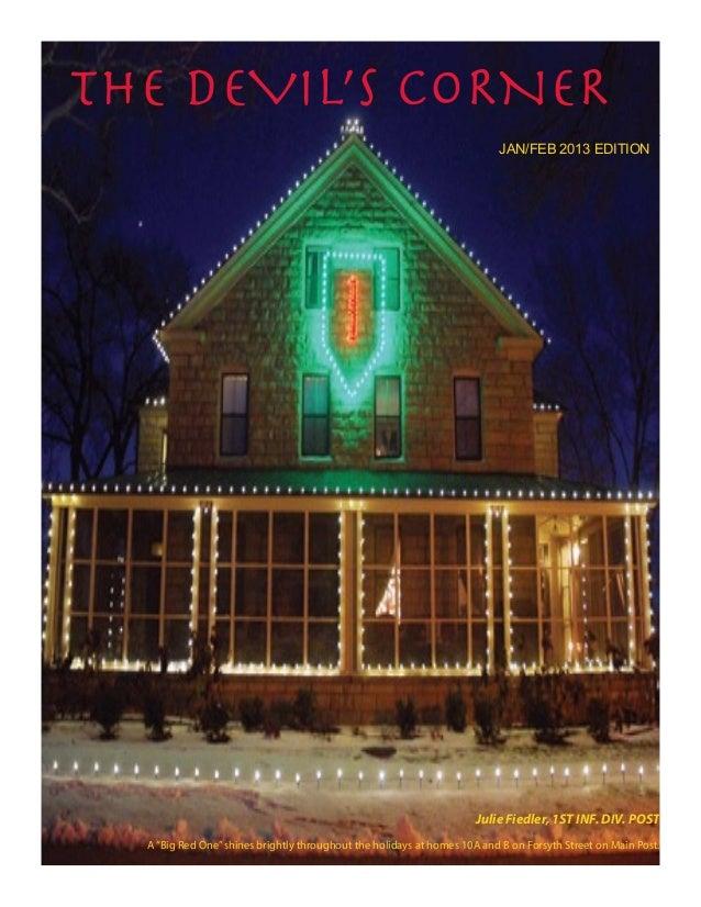 the DEVIL'S CORNER                                                                          JAN/FEB 2013 EDITION          ...