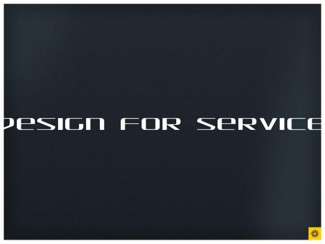 design for service