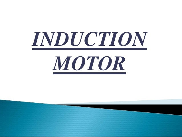 INDUCTIONMOTOR