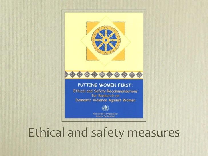Ethicalandsafetymeasures