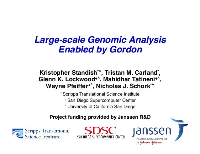 Large-scale Genomic Analysis Enabled by Gordon