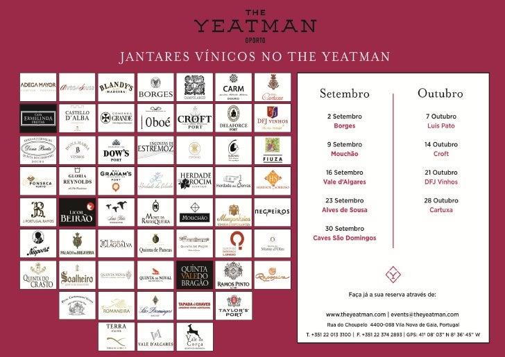 wine dinners no the yeatman