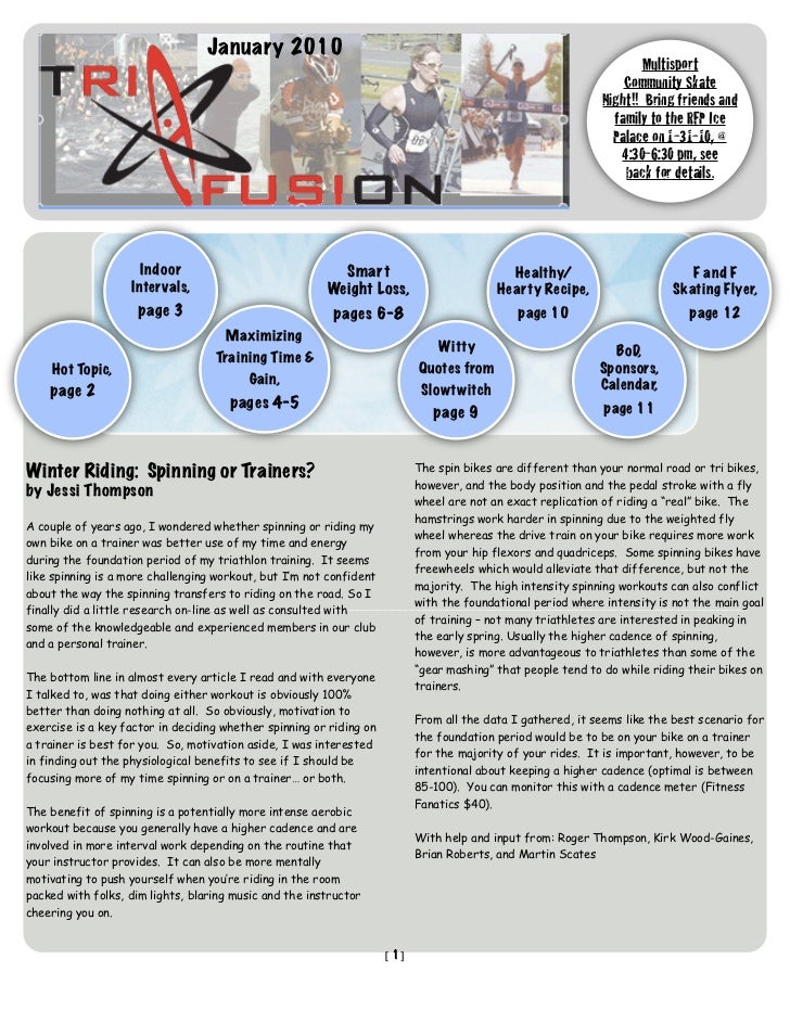 TriFusion Newsletter - Jan.'10