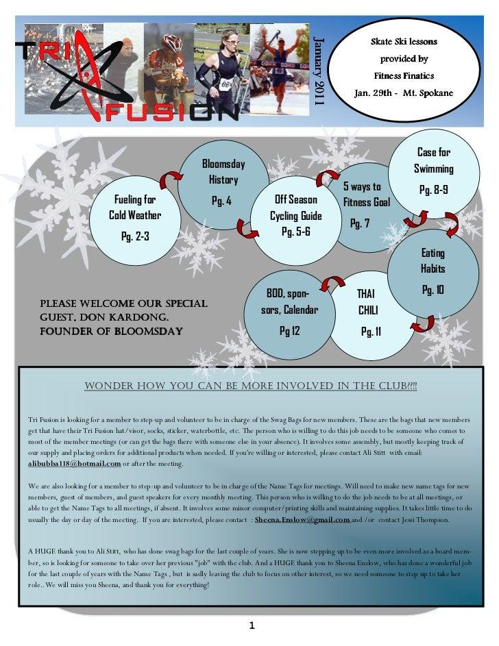 TriFusion Newsletter - Jan.'11