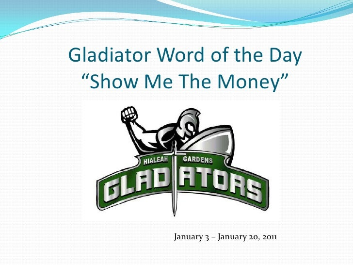 January 2011  3-20 Word of the Day-Math