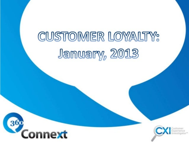 This month, we held up our    Customer Experience    InvestigatorTM Magnifying Glass    to Customer Loyalty. What    cause...