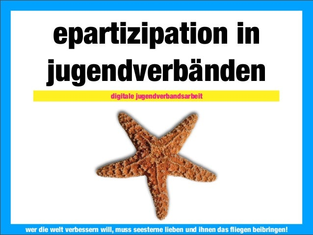 ePartizipation in Jugendverbänden
