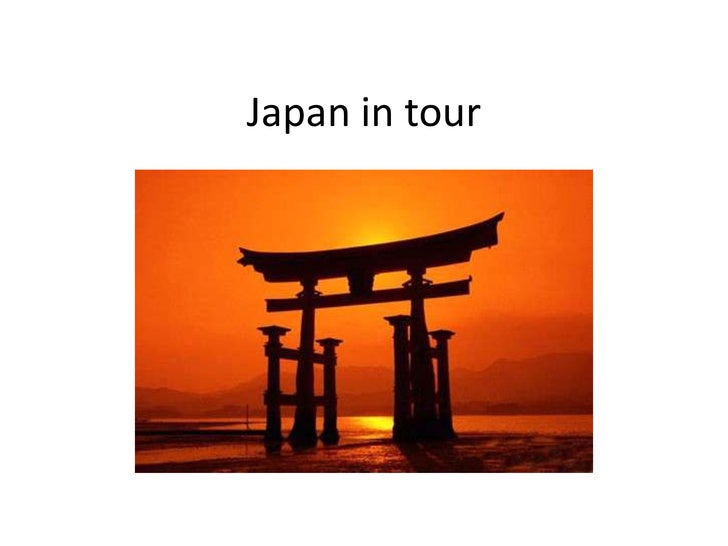 Japan in tour<br />