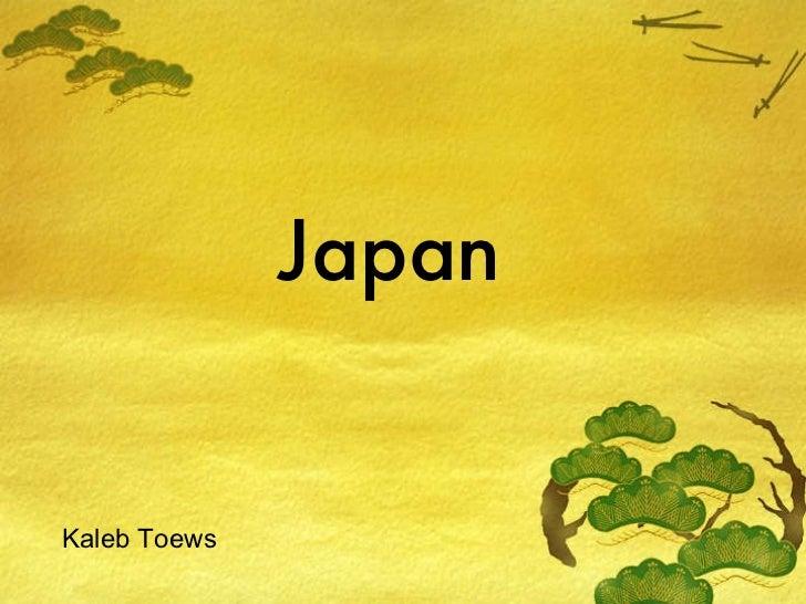 Japan Kaleb Toews