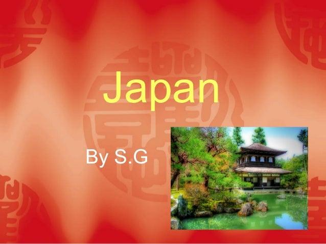 JapanBy S.G