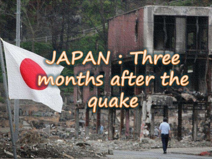JAPAN : Three months after the quake<br />
