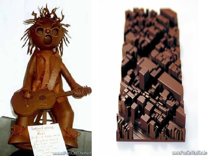 Japanese Chocolate Art   Feast For The Eyes