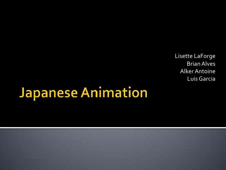 Japanese animeation