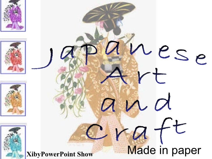 Japaneseartandcraft