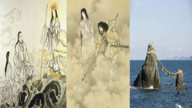 creation myth of japan A compare and contrast of some of the gods and there personalities, and the myths them selves (eggselent.
