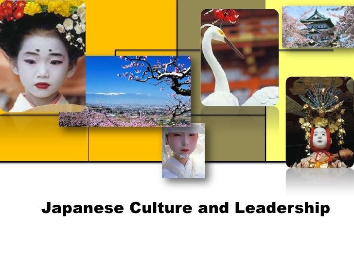 Japanese culture and leadership slideshare