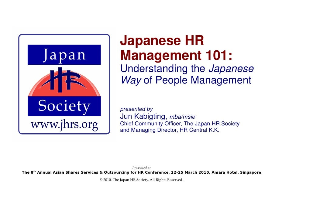Japanese HRM 101: Understanding the Japanese Way of People Management