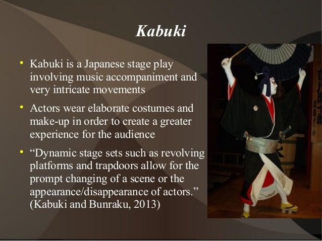 Japanese Kabuki Costumes Kabuki  Kabuki is a Japanese