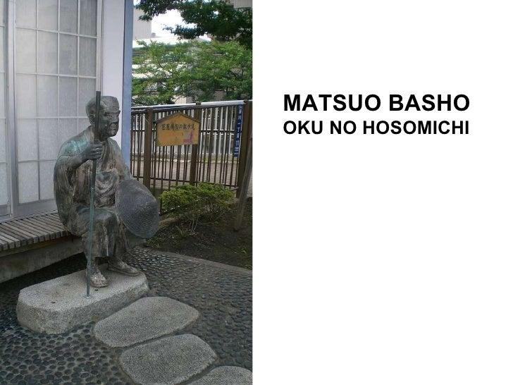 MATSUO BASHO OKU NO HOSOMICHI