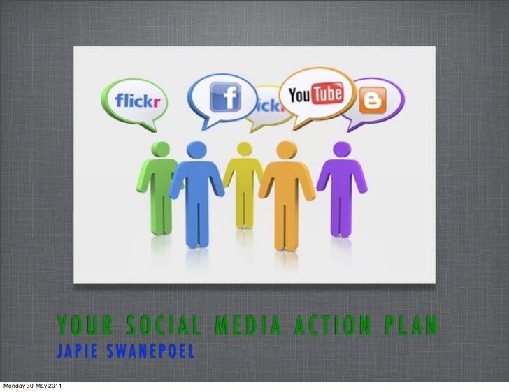 YOUR SOCIAL MEDIA ACTION PL AN                JAPIE SWANEPOELMonday 30 May 2011