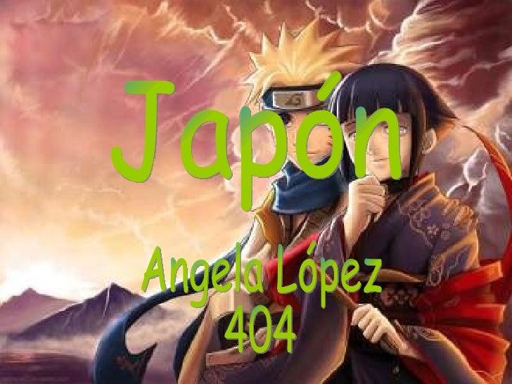 Japón  Angela López 404