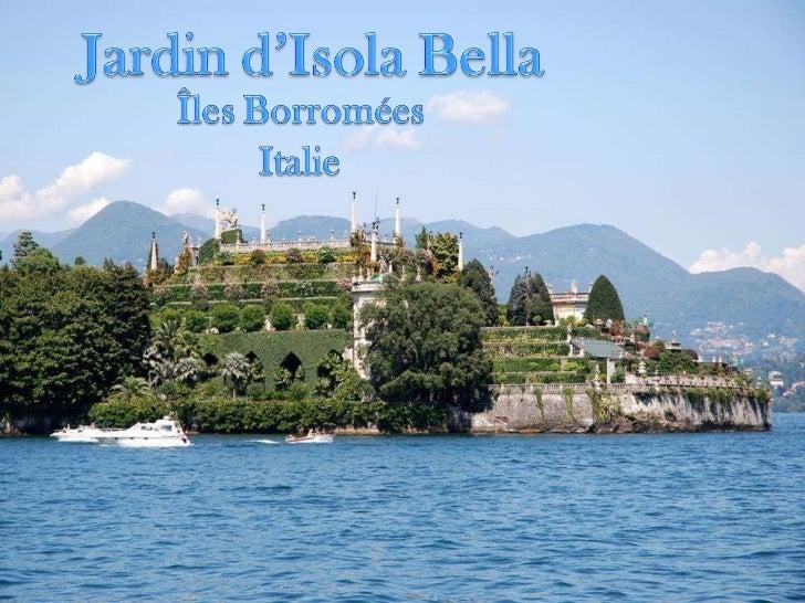 Jardin d-isola-bella-italie