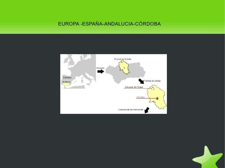 EUROPA -ESPAÑA-ANDALUCIA-CÓRDOBA