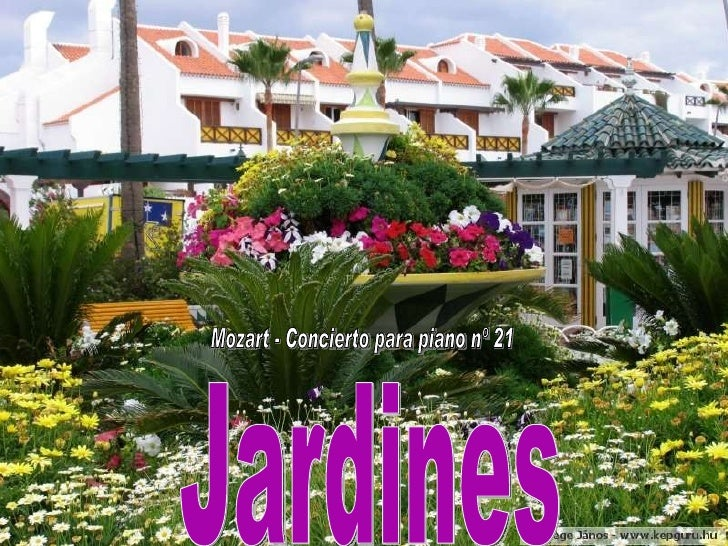 Jardines Mozart - Concierto para piano nº 21