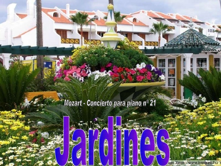 Jardines Mozart (Ml)