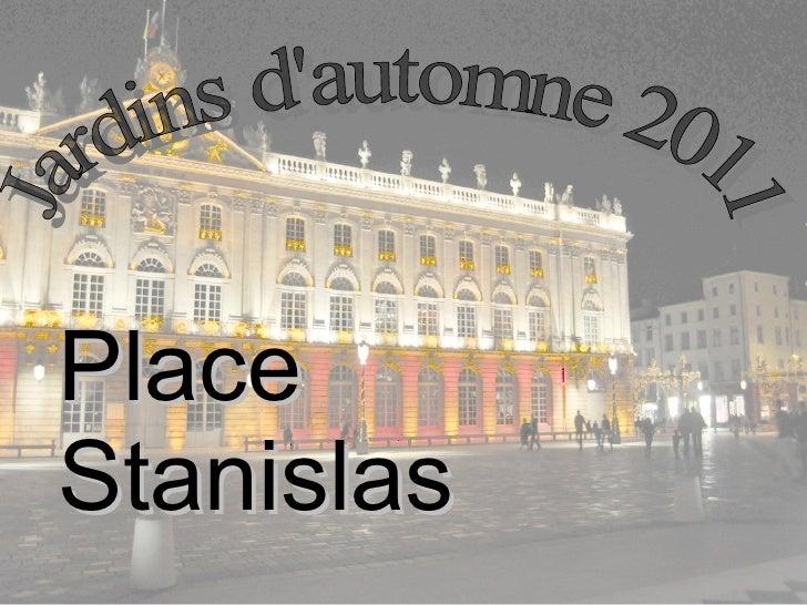 Jardins d'automne 2011 Place Stanislas