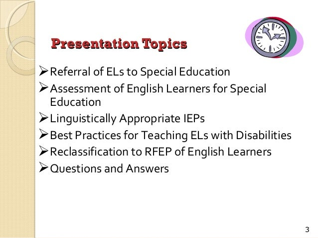 presentations topics in english