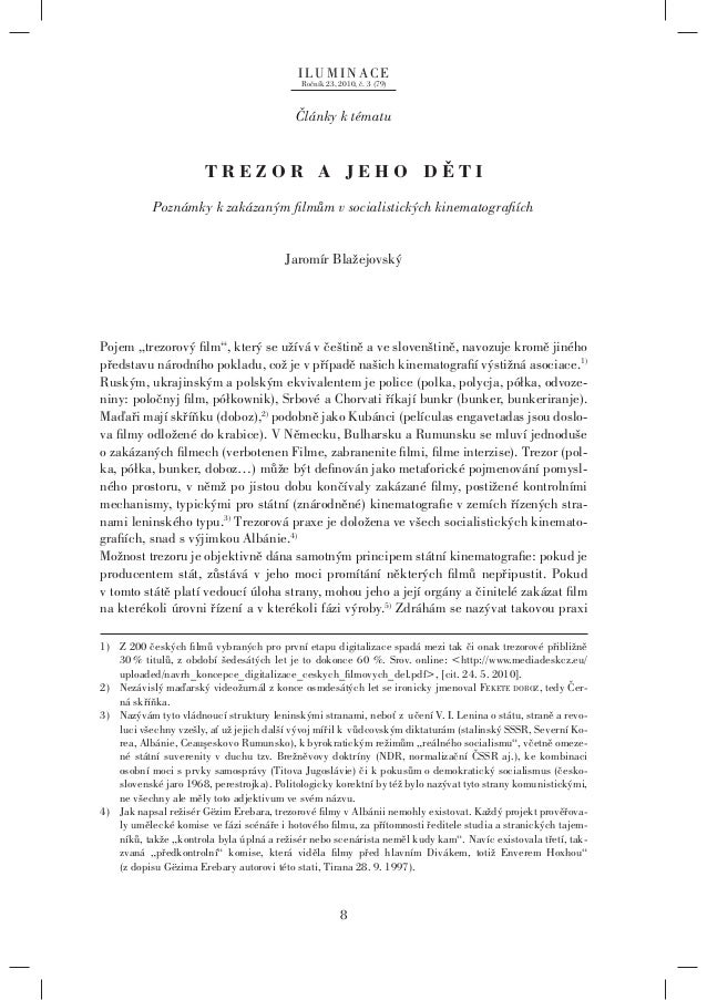 ILUMINACE                                            Ročník 23, 2010, č. 3 (79)                                           ...