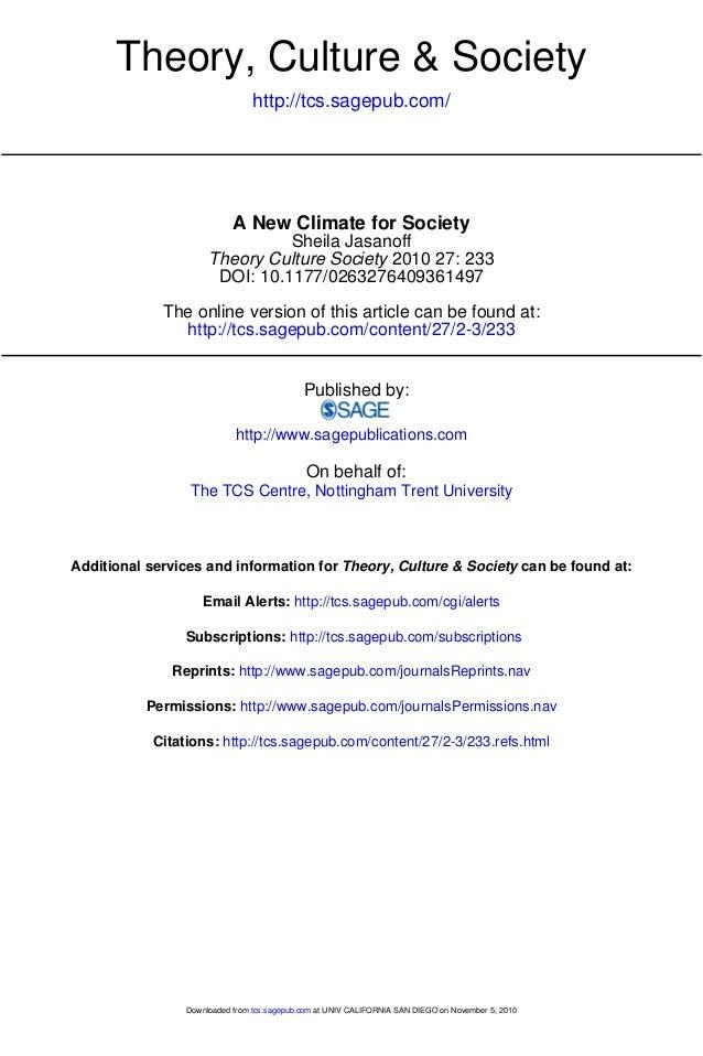 Jasanoff 2010 theory_culture_society