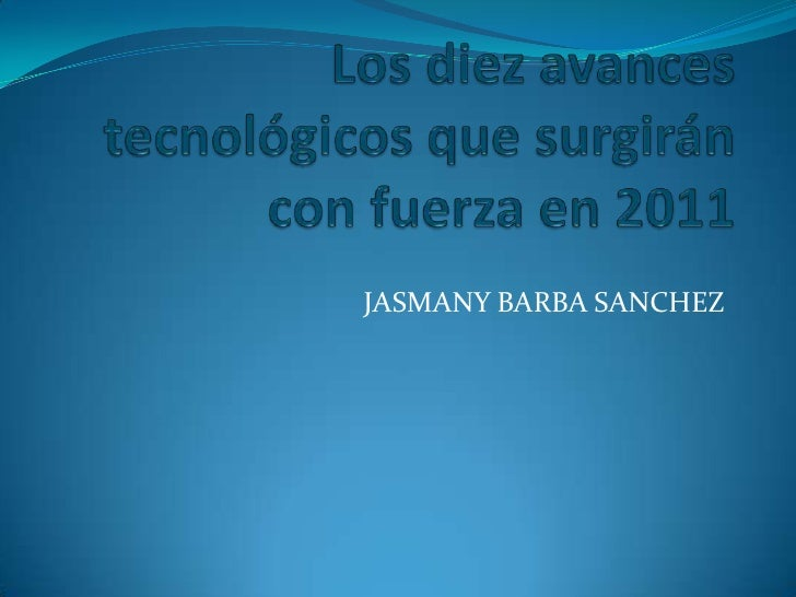 JASMANY BARBA SANCHEZ