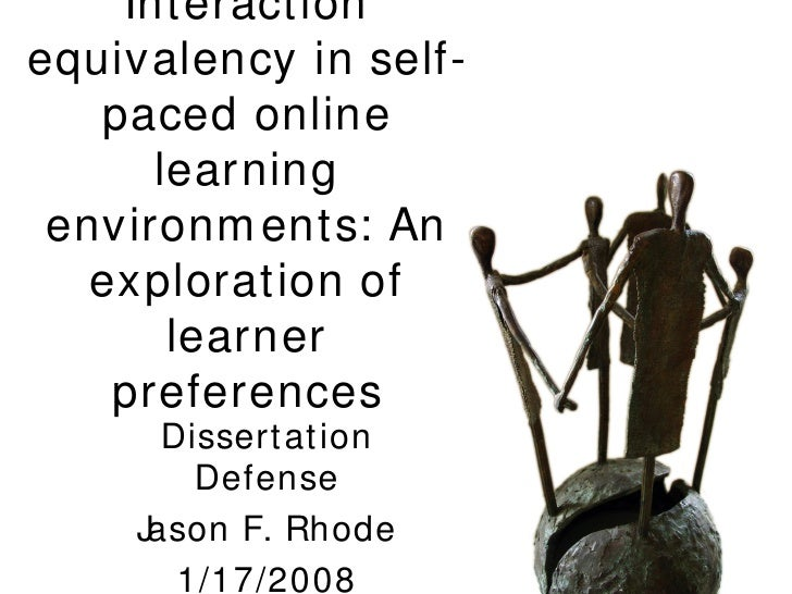 Jason Rhode Dissertation Overview