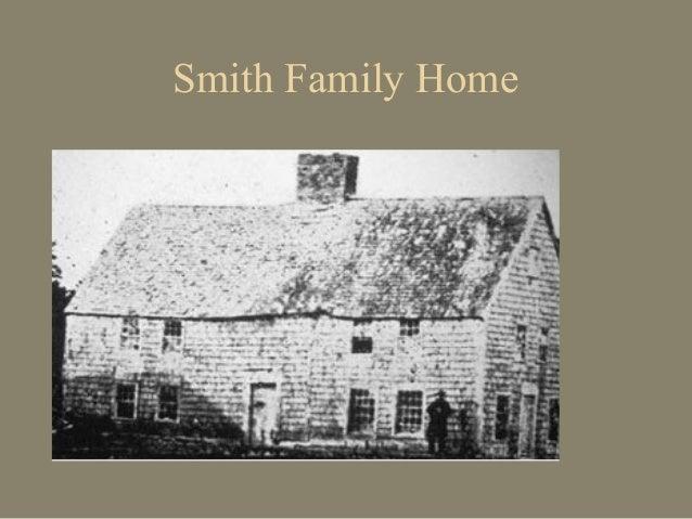 Joseph Smith's Ancestory