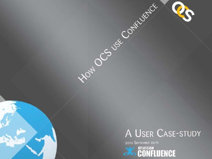 Confluence use by OCS