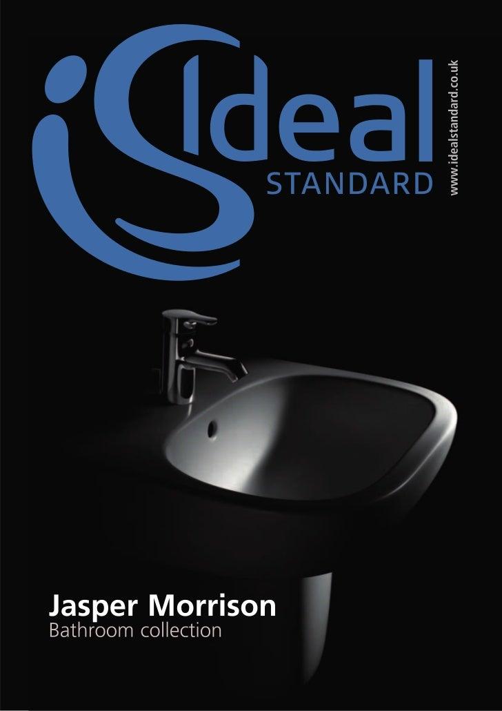 Bathroom Suites - Ideal Standard - Jasper Morrison