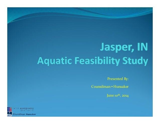 Jasper pool study 061014
