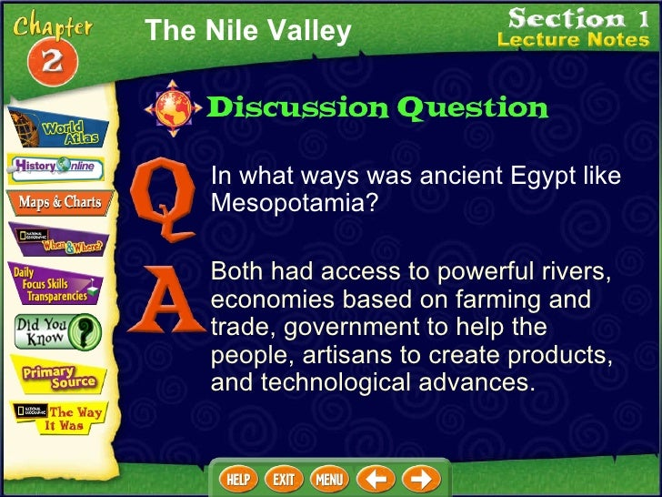 compare and contrast essay between mesopotamia and egypt